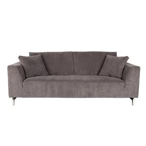 SOFA DRAGON 3-SEATER RIB GREY