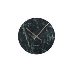 CLOCK MARBLE TIME GREEN