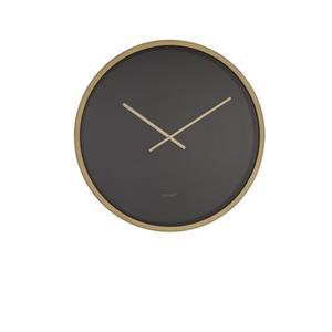 CLOCK TIME BANDIT BLACK/BRASS