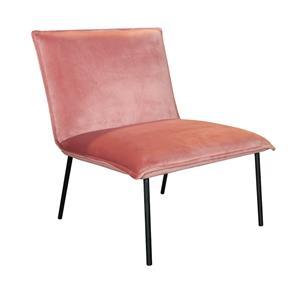Kick Fauteuil Lola - Velvet roze