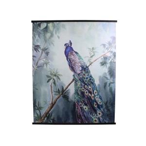 Wall Plaque Cotton BLUE 140x2x170