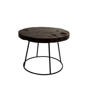 SIDE TABLE KRATON CHOCOLATE BL