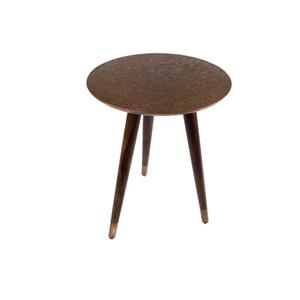 SIDE TABLE BAST COPPER