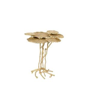 SIDE TABLE LILY MULTI GOLD