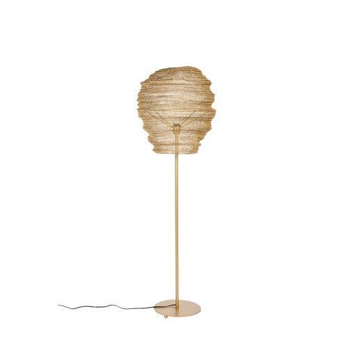 FLOOR LAMP LENA BRASS